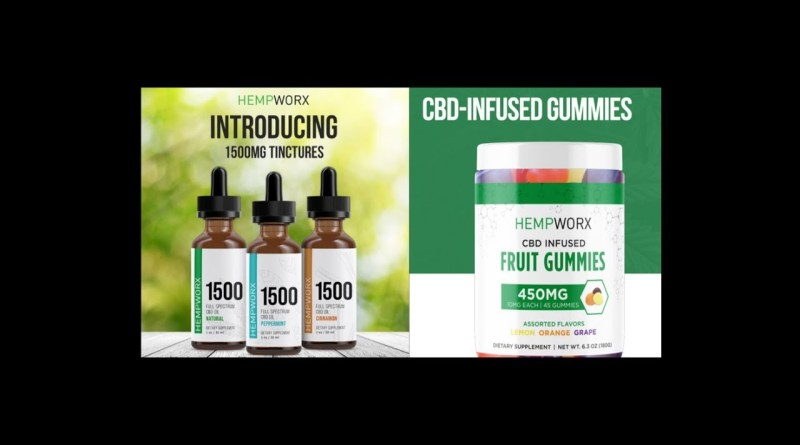 PURE CBD Oil 1500 mg and Gummies