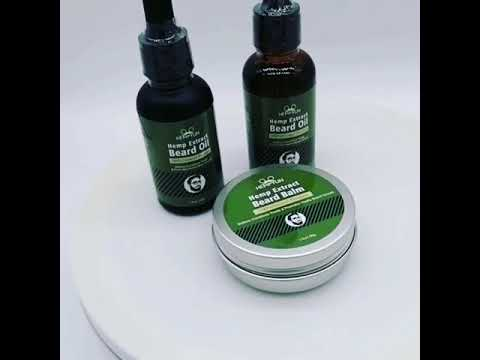 Cbd hemp beard oil