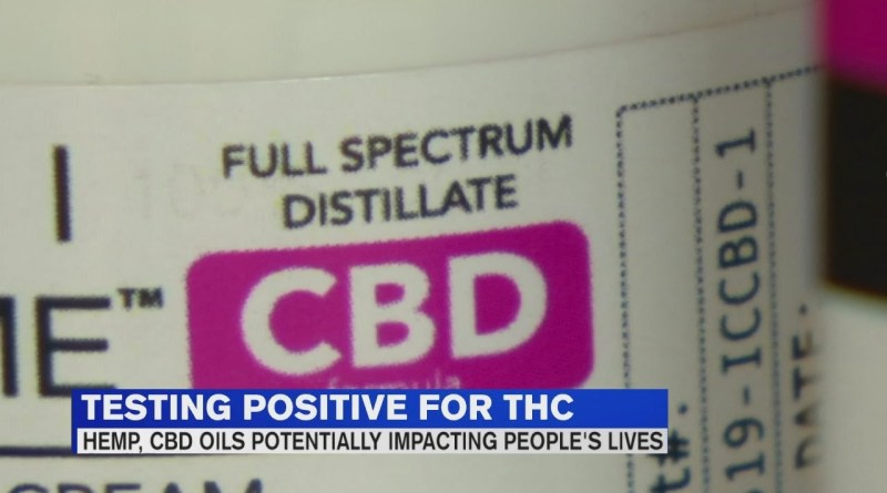 Learn how CBD oil impacted a nurse's life after testing positive for THC
