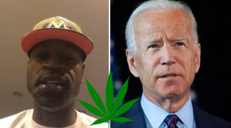 Stephen Jackson RIPS Joe Biden 'Won't Legalize Marijuana' Stance 'A Gateway Drug Is Poverty'