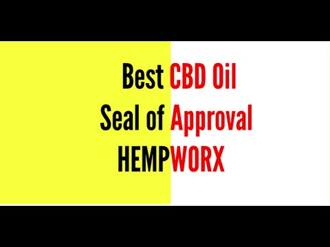 Best CBD Oil Hempworx US Hemp Authority Approved Products