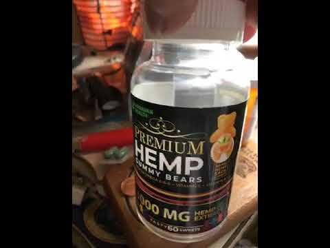 CBD Gummy – Hemp Gummies Premium 35000 mg High Potency – Fruity Gummy Bear with Hemp Oil