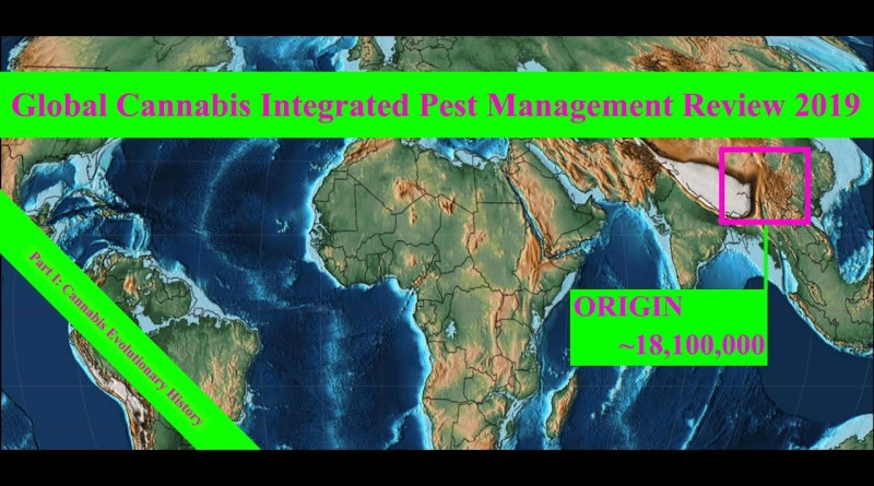 Global Cannabis Integrated Pest Management Review 2019 Part I: Cannabis Evolutionary History