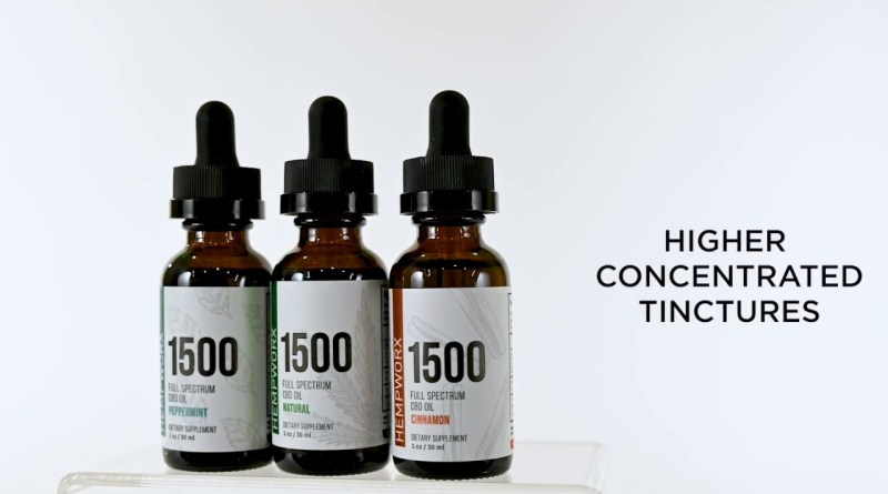 CBD OIL 1500mg Tinctures Now Available