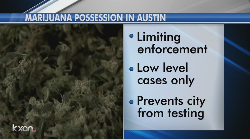 Change to Austin marijuana laws likely to pass in Thursday's council vote