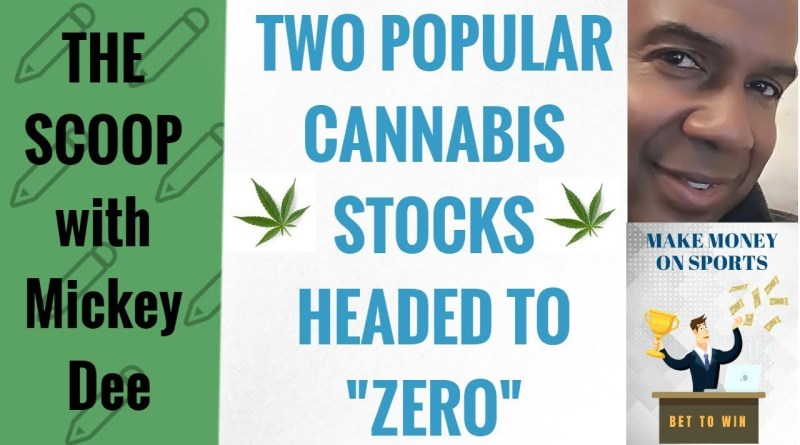 "Two Popular Cannabis Stocks Headed to ""ZERO"" and More Marijuana Notes – The Scoop"