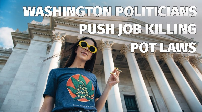 Washington State Politicians Push Job Killing Pot Laws