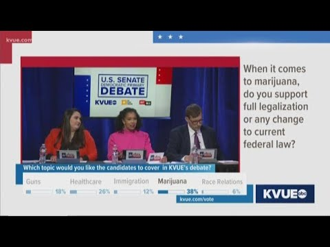 Do you support full legalization or any change to federal marijuana law? | KVUE