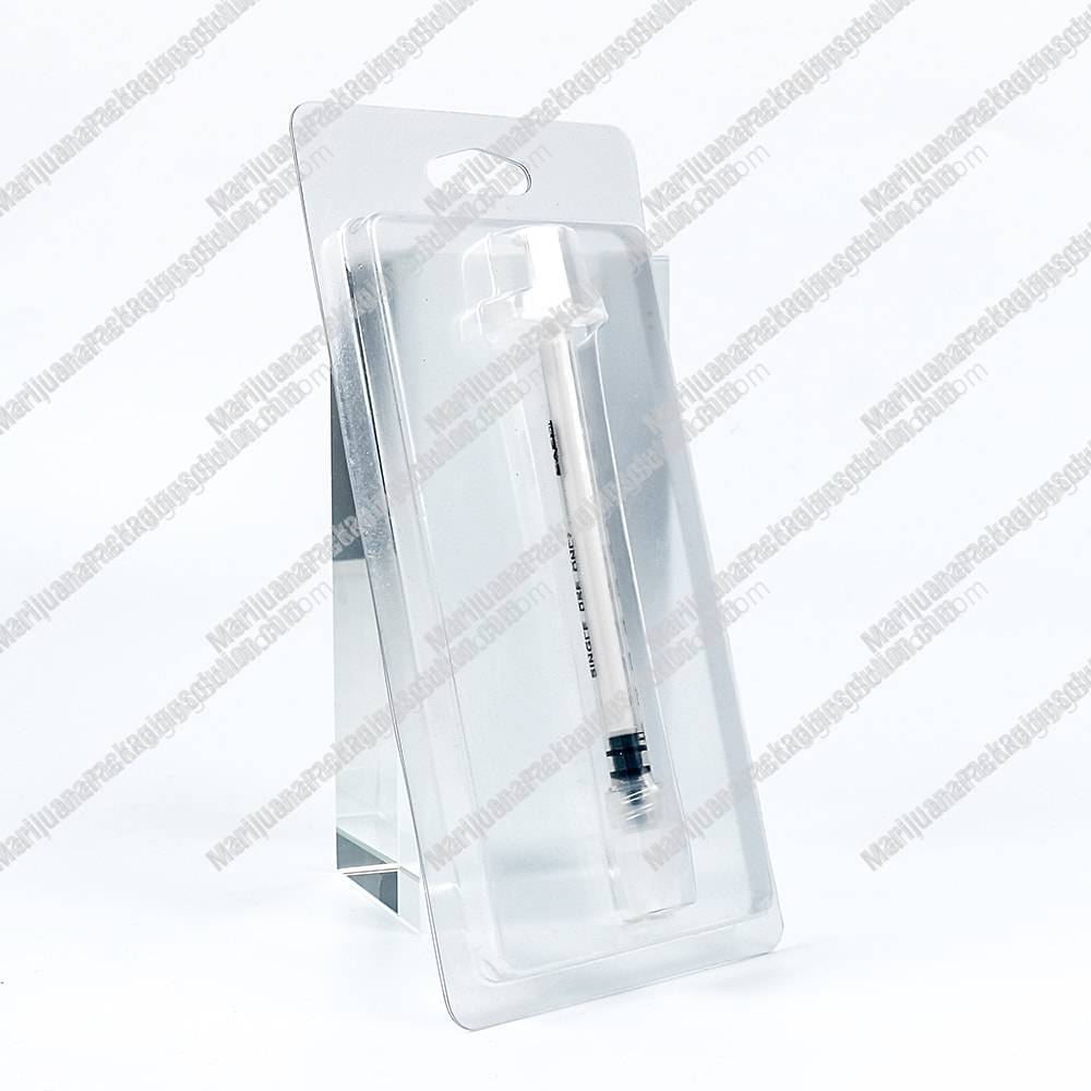 Cbd Syringes Blister Packaging Marijuana Packaging Solution