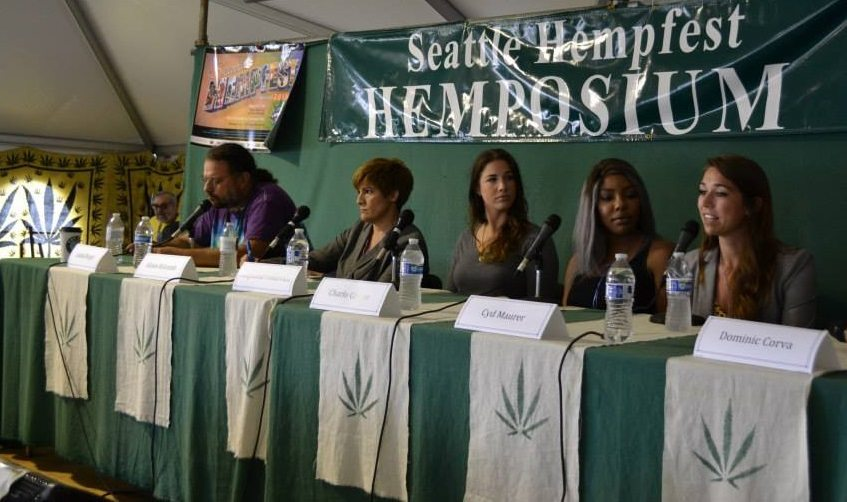 Cannabigotry panel ast Seattle Hempfest