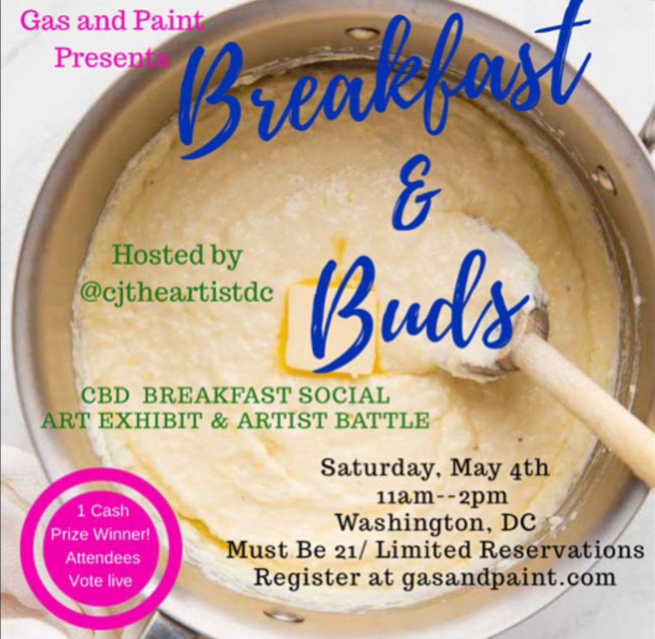 Breakfast And Buds Dc May 4