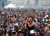 Pot celebration by Argentina People