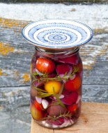 Lacto-fermented Cherry Tomatoes