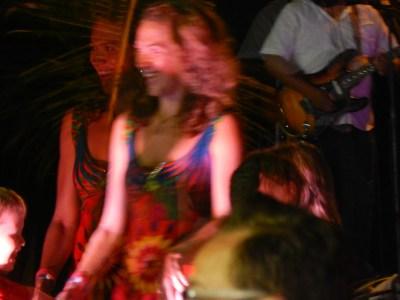 Salsa Dancing with my son in Puerto Vallarta