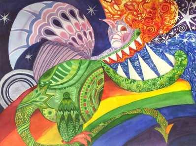Daire's Dragon (c) Marika Reinke 2015
