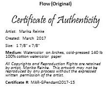 Flow Certificate of Authenticity