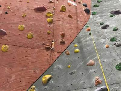 Climbing Gym 10 Scary Wall