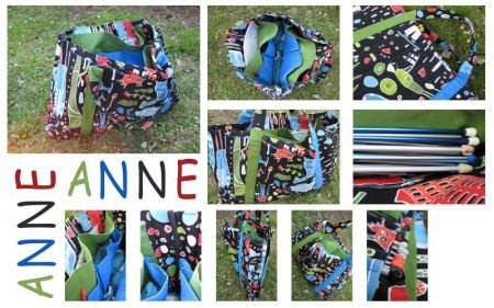 Sac ouvrage Anne