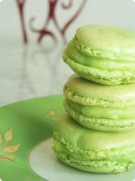 macarons citron vert
