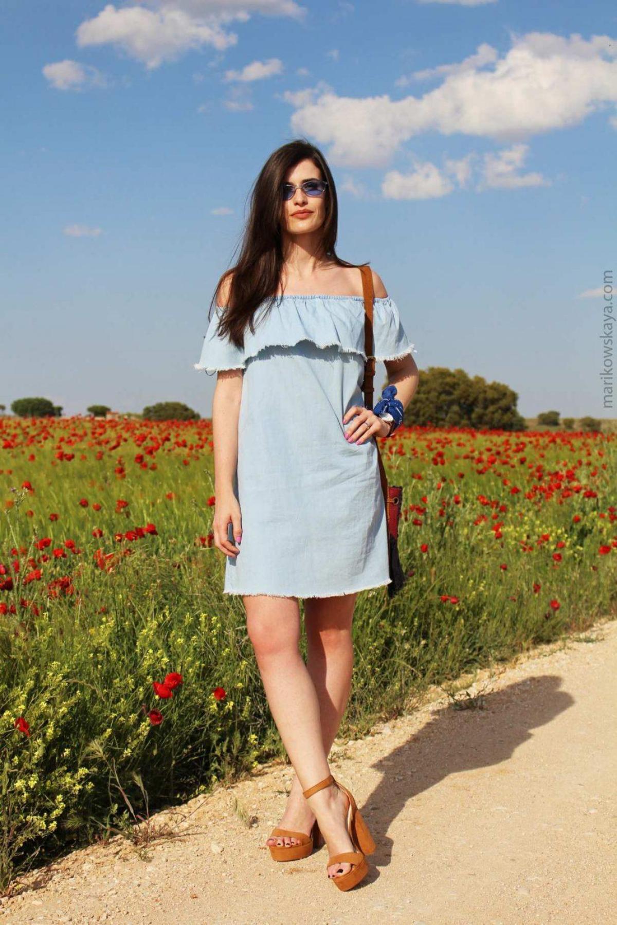 marikowskaya street style off-shoulders tops 5
