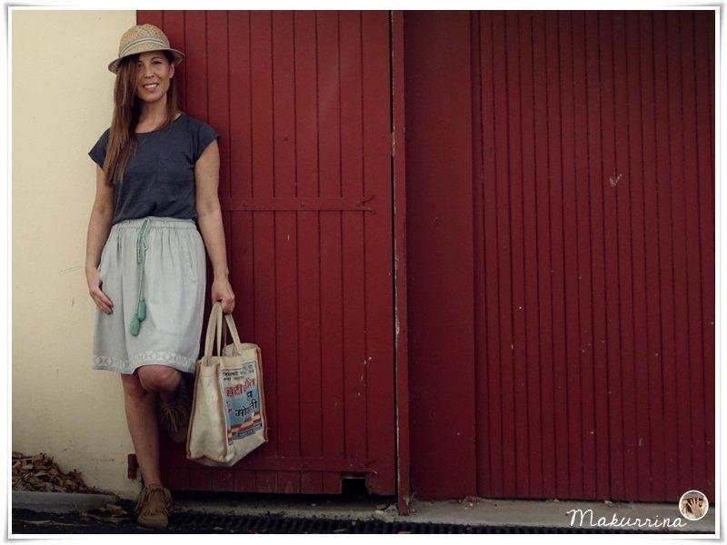 marikowskaya street style maku falda mint (4)