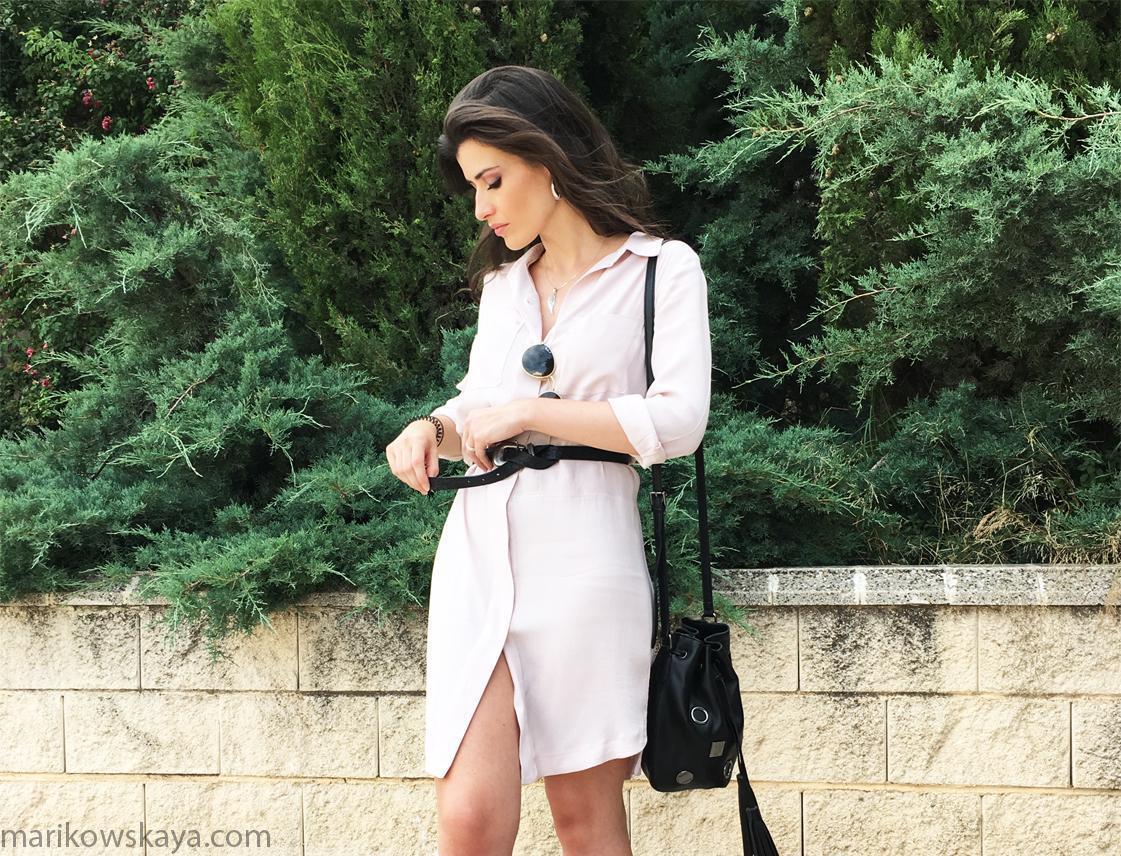 marikowskaya street style vestido camisero 11