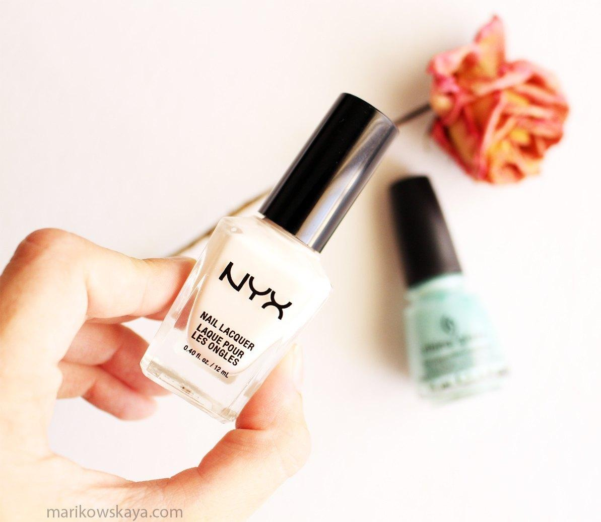 favoritos agosto - nyx russian white