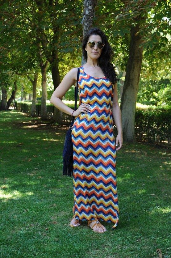marikowskaya street style irene vestido estampado (1)