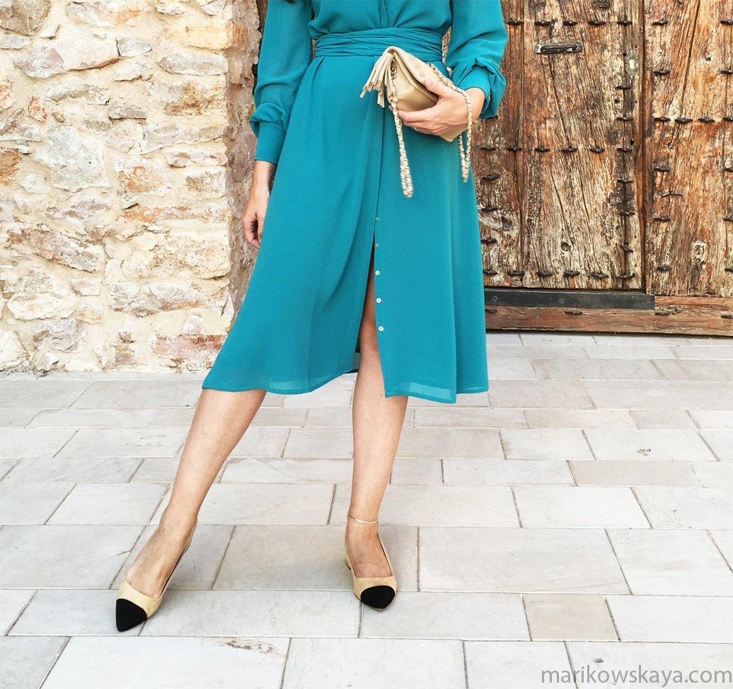 marikowskaya street style zapatos bicolor zara 5