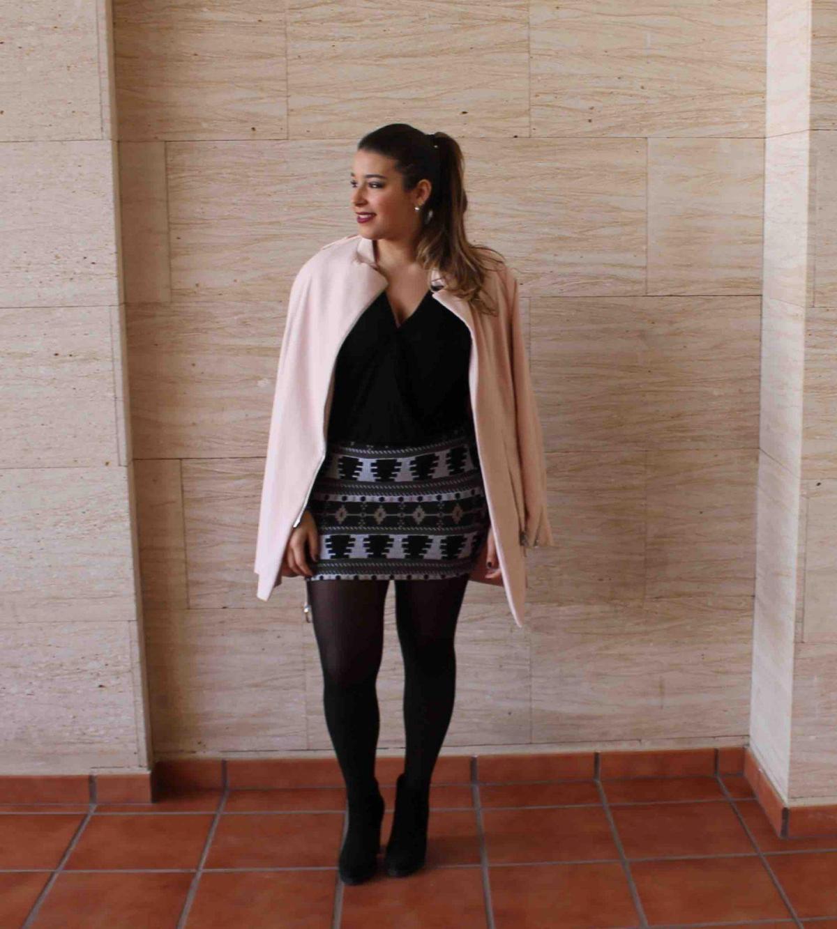 marikowskaya street style amanda abrigo rosa (3)