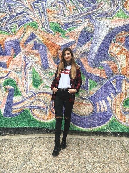 marikowskaya street style andrea camisa cuadros zara (3)