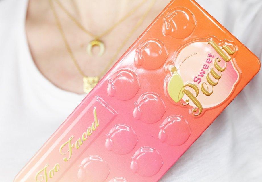too faced sweet peach 2
