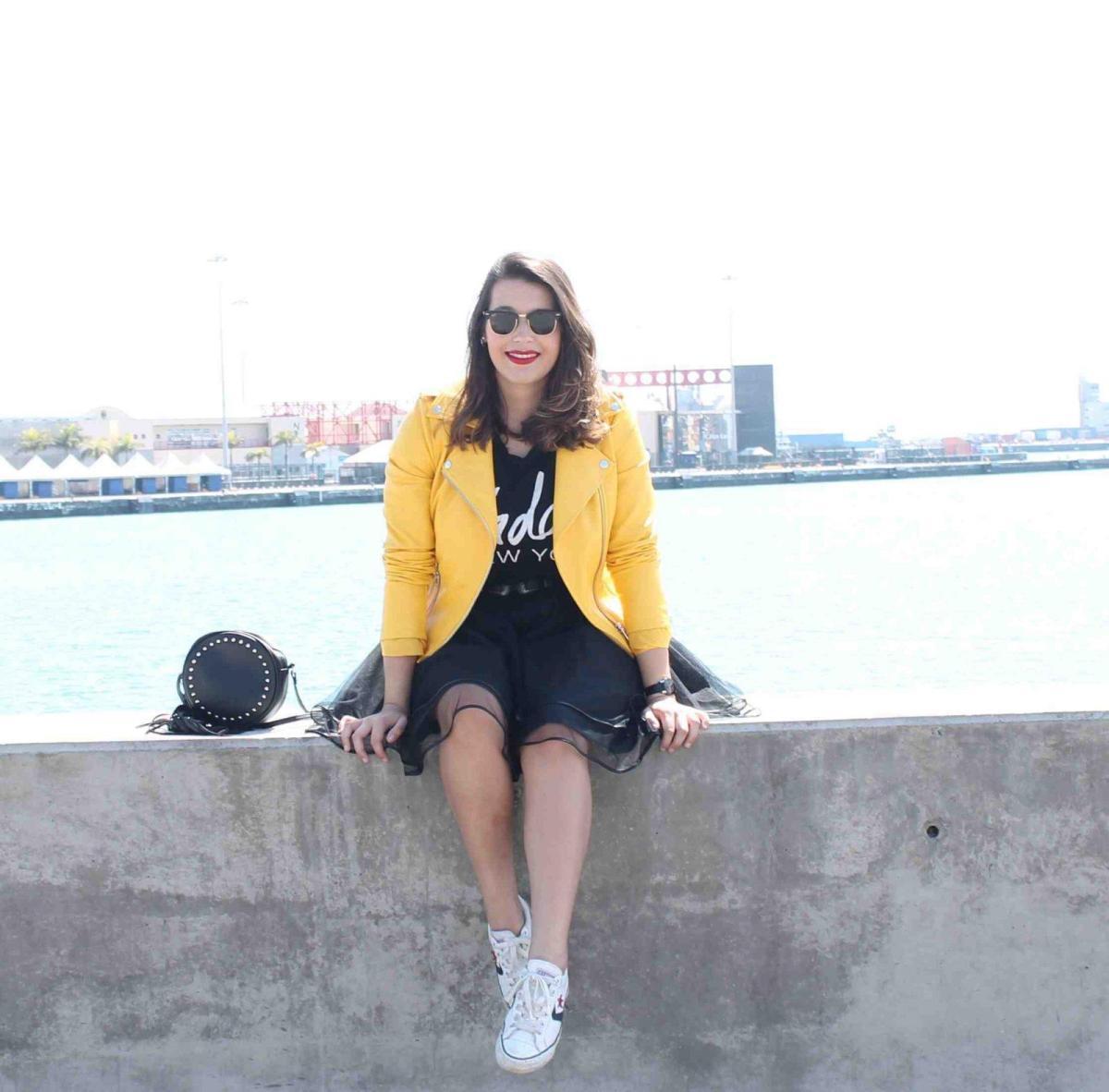 marikowskaya street style amanda chaqueta amarilla zara (12)