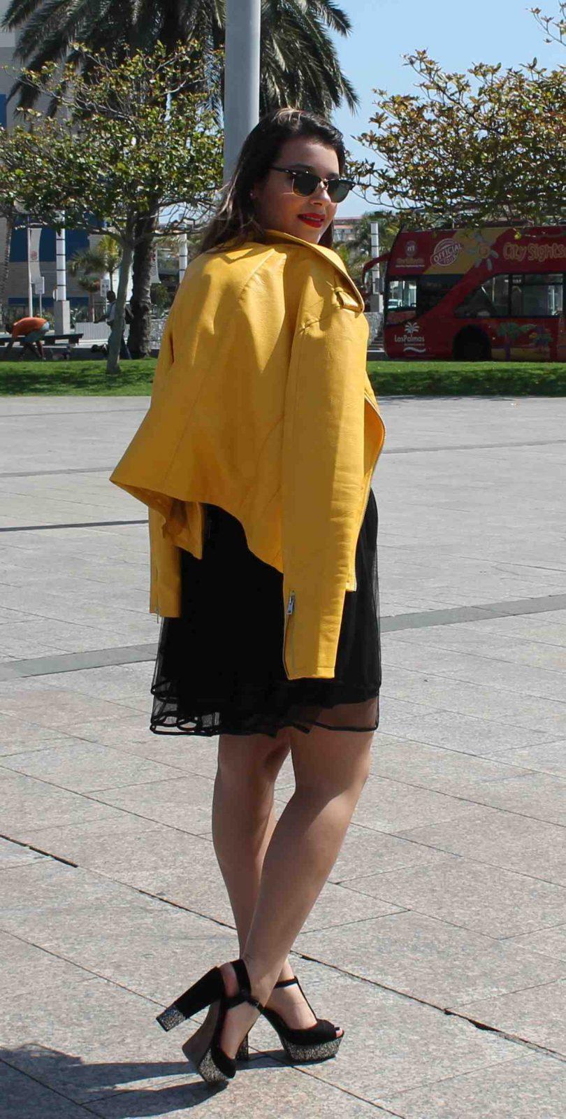marikowskaya street style amanda chaqueta amarilla zara (8)