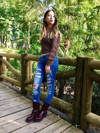marikowskaya street style daniela ripped jeans (5)