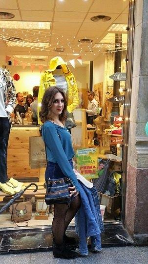 marikowskaya street style lorena falda vaquera (5)
