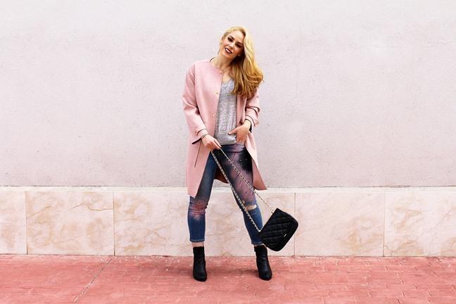 marikowskaya street style patripaan abrigo rosa (2)