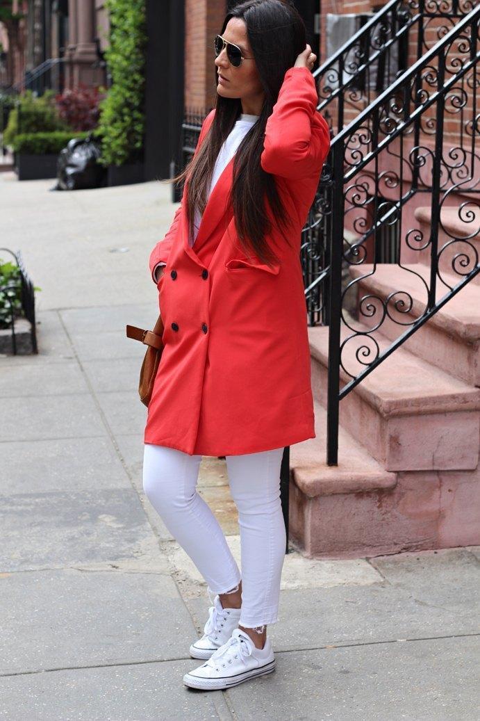 marikowskaya street style carmen blazer roja (4)
