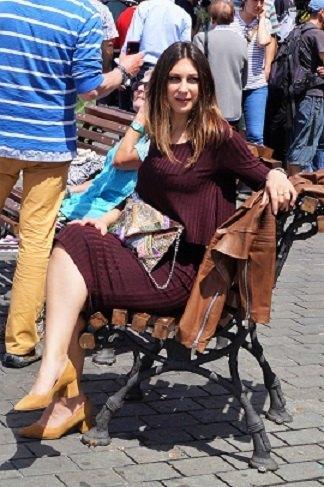marikowskaya street style lorena vestido granate (2)