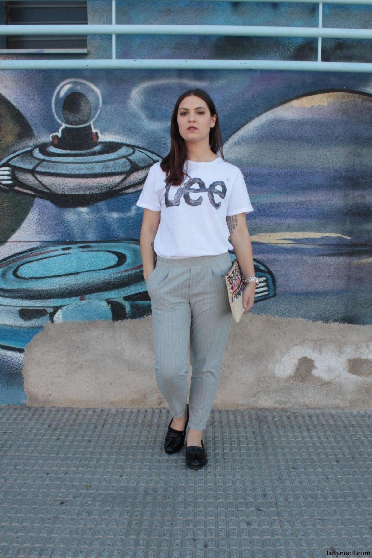marikowskaya street style noelia camiseta lee (1)