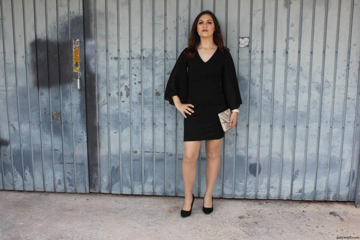 marikowskaya street style noelia vestido negro (1)