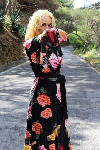marikowskaya street style patripaan vestido flores (6)