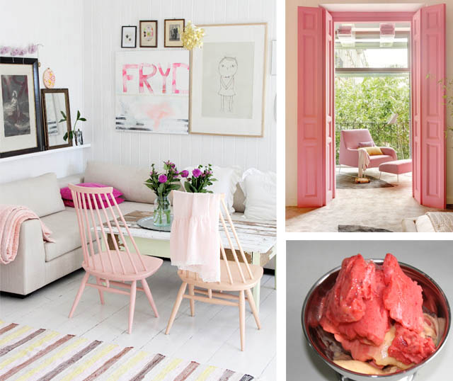 Berry Pink Interiors