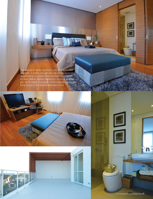 The Kasa Model Unit Master Bedroom