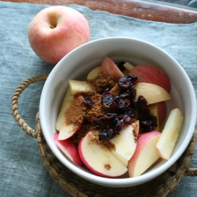 Healthy Autumn Apple Snack