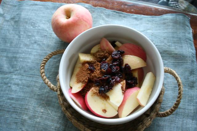 Healthy Autumn Apple Snack