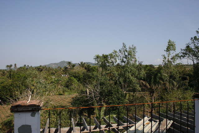 view from top balcony