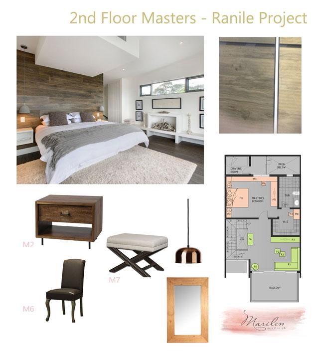 Master bedroom concept