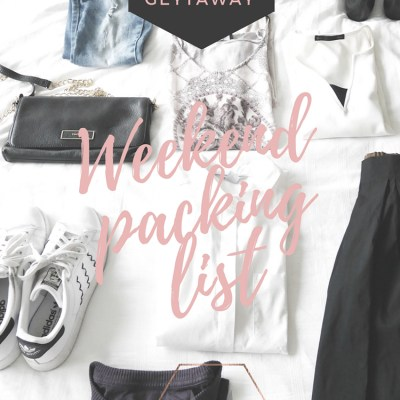 How To Pack Light For A Three Day City Getaway
