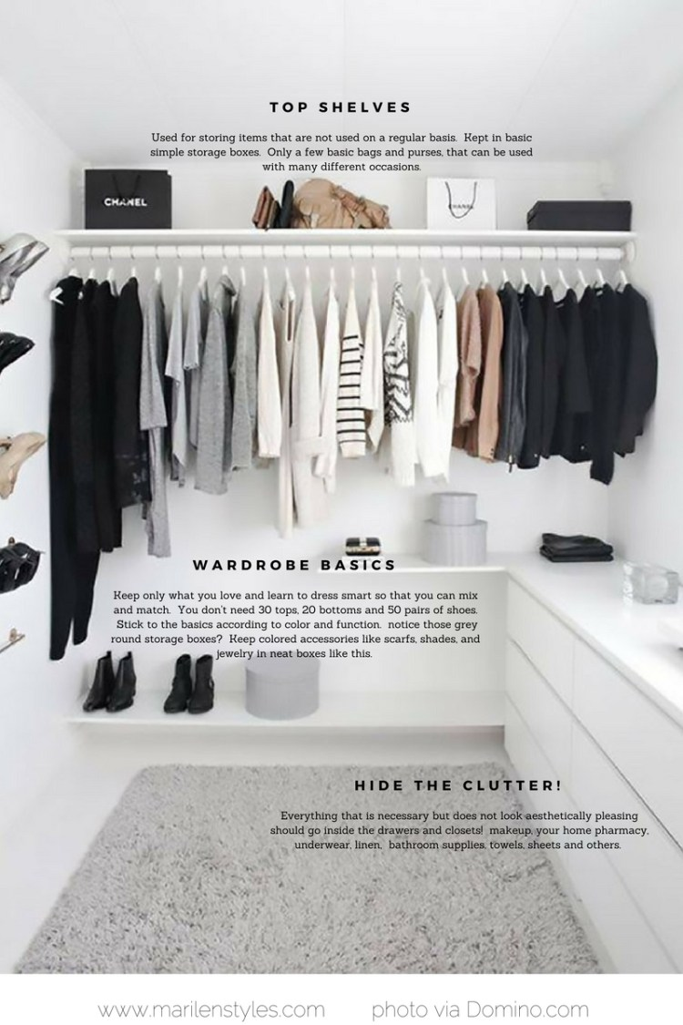 how to achieve a minimalist wardrobe
